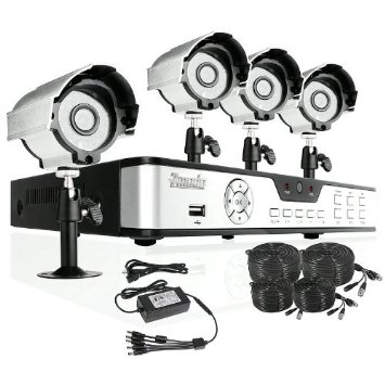 DVR home security system